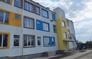 В Южном завершают строительство нового корпуса детского сада