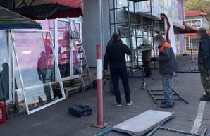 Во время демонтажа торговых павильонов на «Барабашово» распылили газ