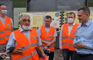 Алексей Кучер посетил крупнейший облавтодор в Украине (ФОТО)