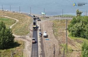 Как продвигается ремонт дороги Чугуев – Печенеги – Великий Бурлук (ФОТО, ВИДЕО)