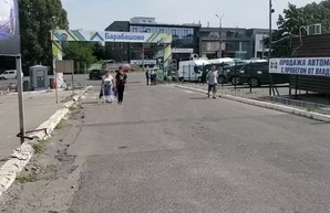 Конфликт около строительства на «Барабашово»: коммунальщики Кернеса уехали восвояси