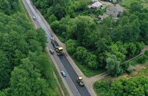 Реконструкция дороги Киев - Харьков - Довжанский: работы выполнены на 20% (ВИДЕО)