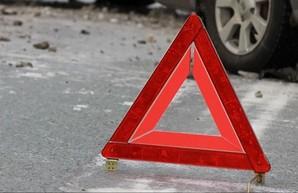 В Харькове иномарка сбила мужчину на пешеходном переходе (ФОТО)