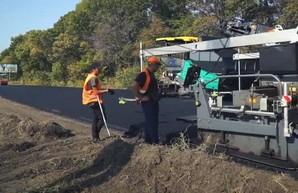 На Харьковщине продолжается ремонт трассы Киев - Харьков – Довжанский (ВИДЕО)