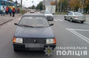 В Харькове на пешеходном переходе сбили двух детей (ФОТО)