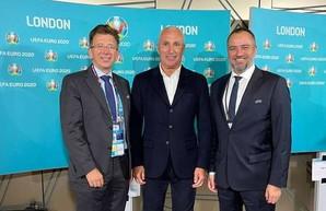 На финале Евро-2020 Ярославский снова продвигал «Металлист» в европейском футбольном мире