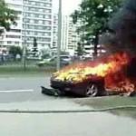 На Рублевке сгорели полмиллиона евро (ФОТО)