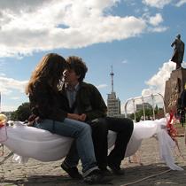 На площади забраковали харьковчан (ФОТО)