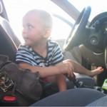 Шестилетний ребенок сел за руль, спасая отца