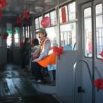 Трамвайные билетики можно обменять на подарки