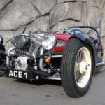 Трехколесные Morgan возвращаются на дороги с моторами Н.-D. (ФОТО)