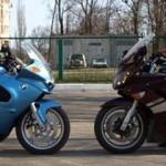 Туреры стратегического назначения: BMW K 1200 RS - Yamaha FJR 1300A