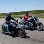 Имиджевые кувалдолеты: Harley Davidson Night Rod Special и Suzuki Boulevard M109