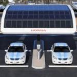 Honda приступила к созданию сети солнечных электрозаправок (ФОТО)