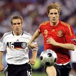 Финал Евро-2008. Гол Торреса в ворота Леманна