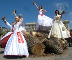 Невесты Харькова искали себе женихов среди динозавров
