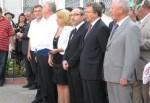 Геннадий Кернес лично поздравил с 1 сентября школьников дальних районов