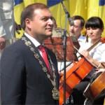 Вручение Почетной Таблицы Совета Европы. Харьков, 23 августа 2008 год