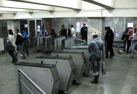 Геннадий Кернес прокатился в метро в компании главного милиционера и прокурора