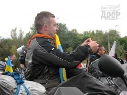Польские байкеры заполонили площадь Свободы