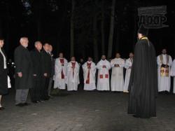 В Пятихатках отслужили мессу для польских байкеров