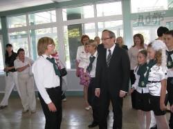 В харьковской школе появилась уникальная (пока уникальная) доска