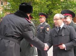 Г. Кернес вручил удостоверения без пяти минут кадетам