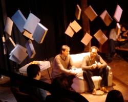 Театр «Ланжерон» приглашает на моноспектакль «Тэза с нашего двора» и  «Загадочные вариации»