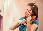 Немецкая скрипачка Катрин тен Хаген в Харькове сыграла на скрипке Гварнери XVII века