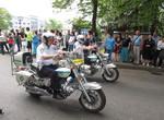 Парад, посвященный Дню Победы, возле ДК милиции