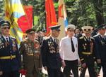 День Победы:Шествие и возложение цветов на Мемориале Славы