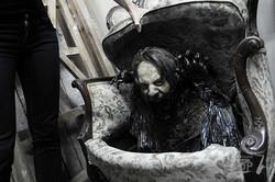В парке Горького монтируют дом ужасов