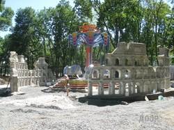 Парк Горького за месяц до открытия