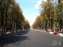 Парк Горького накануне открытия