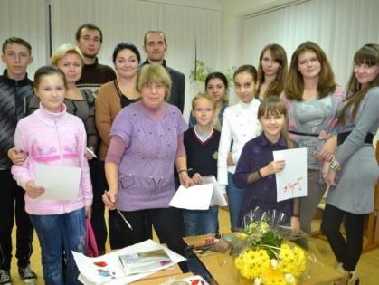 В Харькове прошел мастер-класс по живописи для школьников