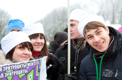 Впервые в Харькове прошел парад ботанов и заучек