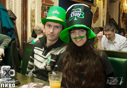 День святого Патрика в Patrick Irish Pub