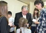 Актеры ТЮЗа встретились с детским школьным театром