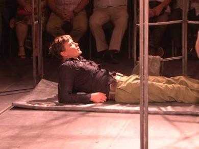 «Прощай, Иуда» – спектакль о человеческом благородстве и о трагедии. В Харькове прошла премьера постановки
