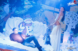 Снеговик пати в харьковском клубе