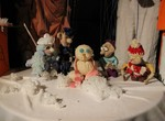 Куклы рассказали деткам о Снеговике, у которого было имя