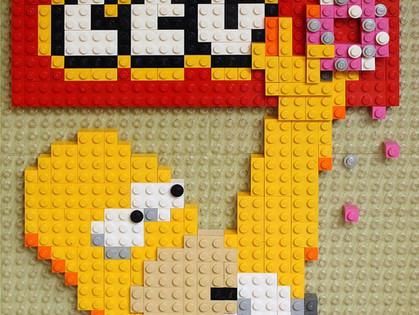 Симпсоны превратятся в лего-персонажей