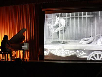 В Харькове посмотрят немое кино с тапером