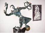 Харьковский скульптор посвятил своей жене выставку