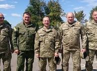 Райнин с силовиками встречает Порошенко