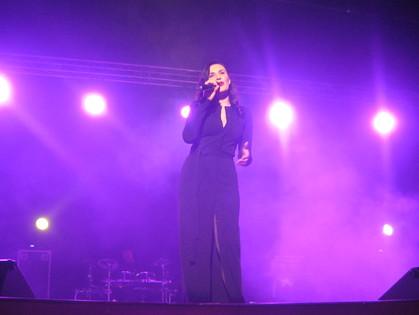 Мила Нитич выступила в Харькове с первым сольным концертом