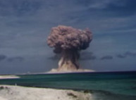 На YouTube появились рассекреченные съемки ядерных испытаний