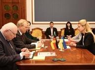 Светличная обсудила перспективы сотрудничества Харькова и Германии с послом ФРГ