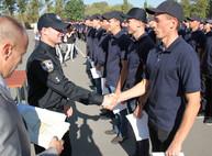 Харьковские патрульные полицейские получили дипломы (ФОТО)