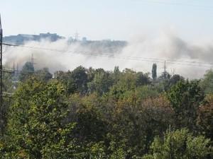 Взорваны последние здания, принадлежащие заводу «Серп и молот» (ФОТО)